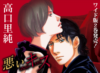 悪いキスワイド版第2巻