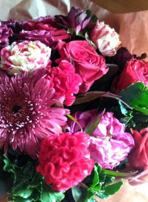 誕生日のお花2